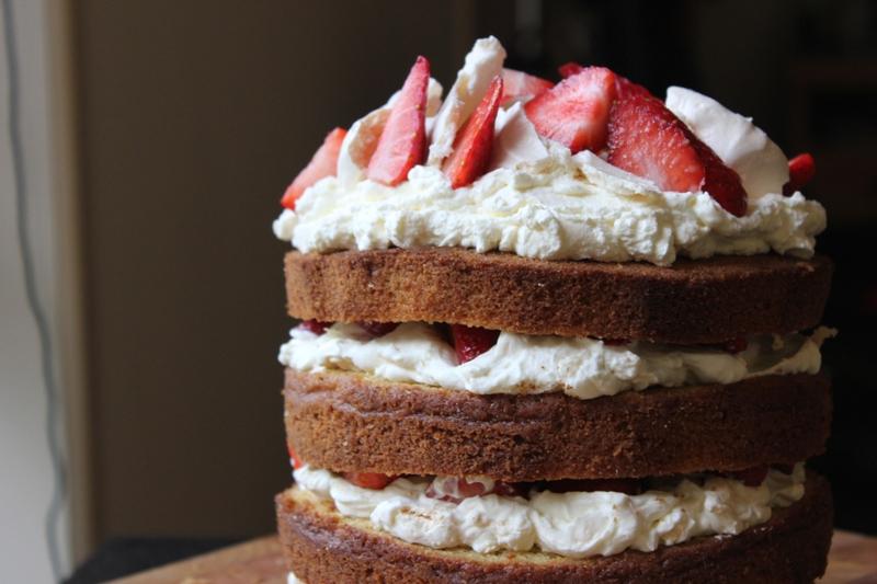 Eton Mess Layer Cake