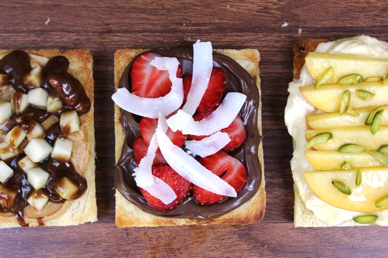 Nutella Strawberry and Coconut Fairy Bread Recipe
