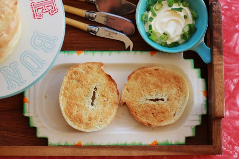 Onion Bagels Recipe - The Sugar Hit