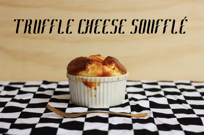 Truffle Cheese Soufflé Recipe // TheSugarHit.com