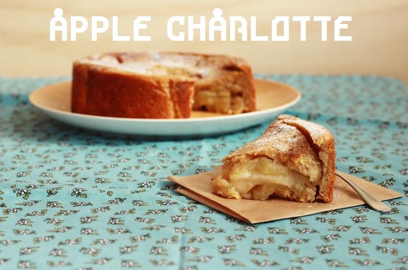 Apple Charlotte Recipe // TheSugarHit.com
