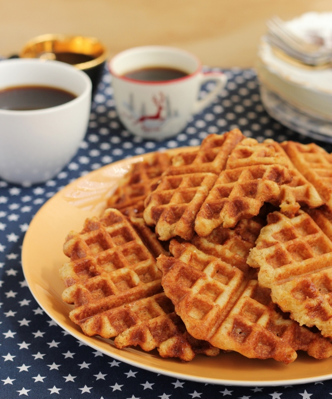 Liege Waffles | TheSugarHit.com