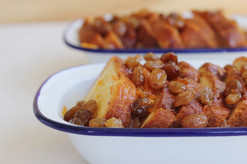 Rum and Marmalade Brioche Pudding | TheSugarHit.com