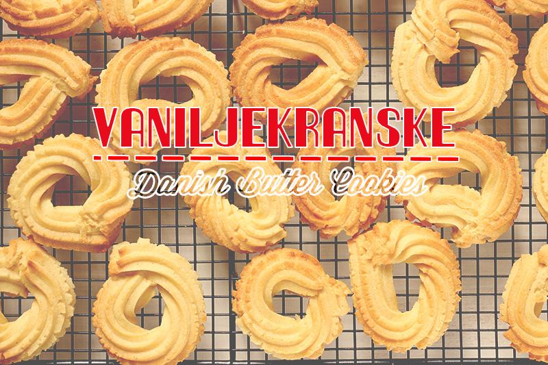 Danish Butter Cookies | TheSugarHit.com