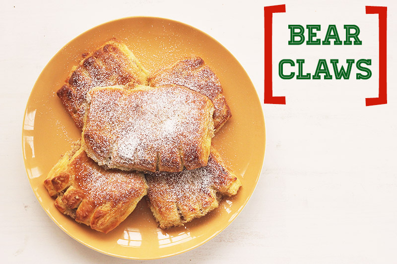 Bear Claws! | The Sugar Hit