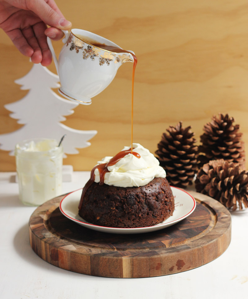 Non-Traditional Christmas Pudding | The Sugar Hit
