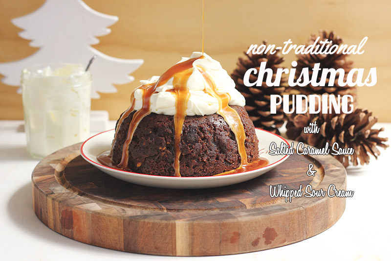 Non-Traditional Christmas Pudding | The Sugar Hit