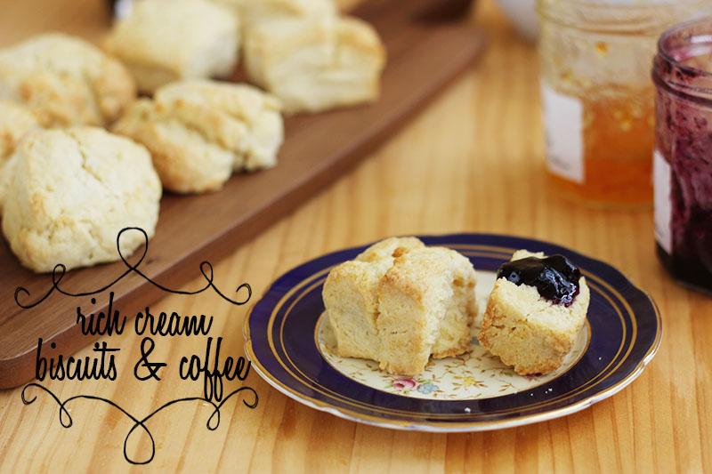 Rich Cream Biscuits | The Sugar Hit