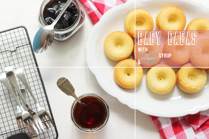 Baby Babas with Earl Grey Syrup | The Sugar Hit