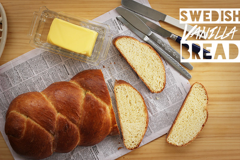 Swedish Vanilla Bread | The Sugar Hit