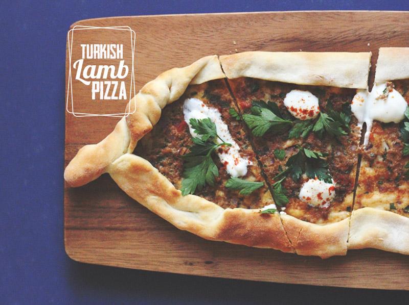 Turkish Lamb Pizza   The Sugar Hit
