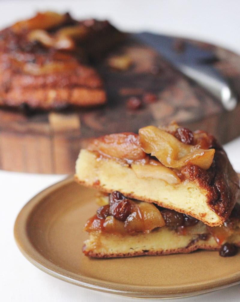 Caramel Apple Pancake | The Sugar Hit