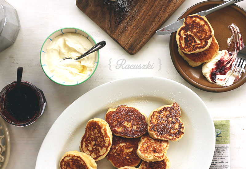 Racuszki {Polish Yeasted Pancakes} | The Sugar Hit