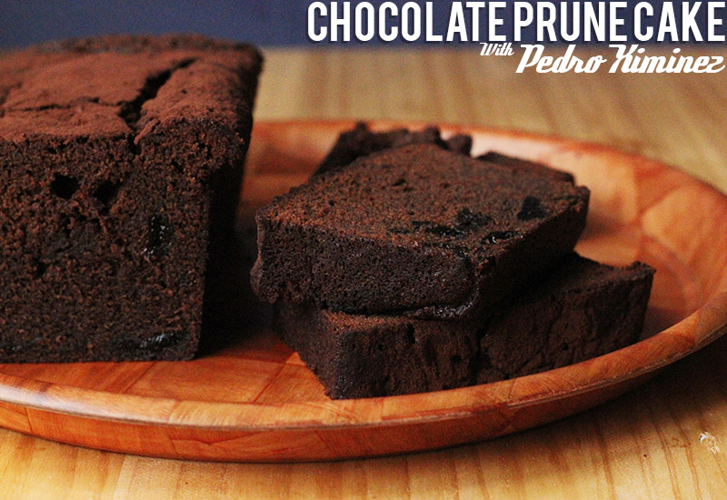 Chocolate Prune Cake with Pedro Ximinez | The Sugar Hit