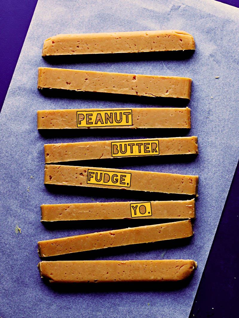 Peanut Butter Fudge | The Sugar Hit
