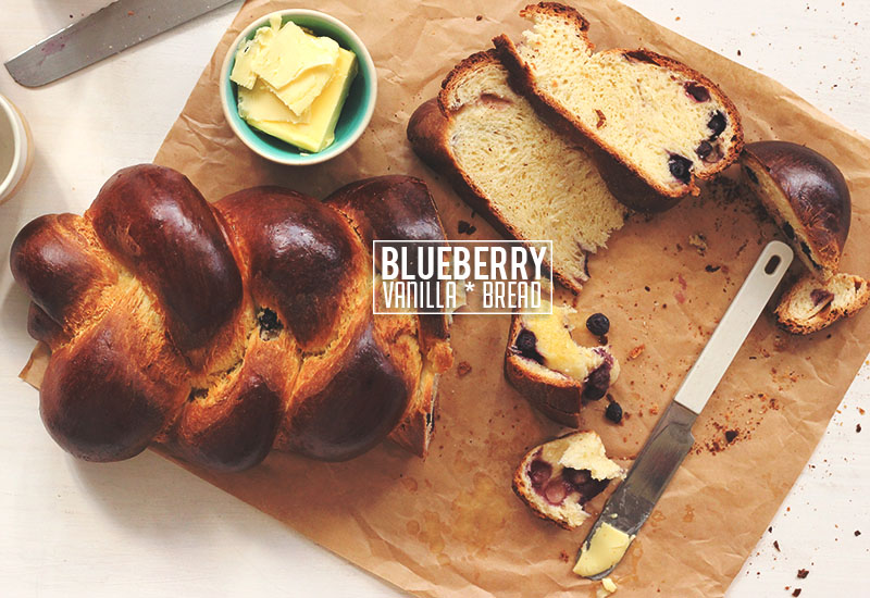 Blueberry Vanilla Bread | The Sugar Hit