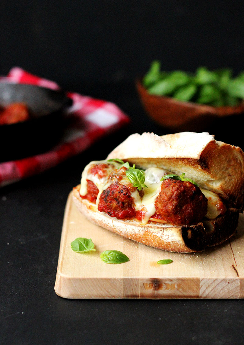 The one and only Meatball Sub | The Sugar Hit
