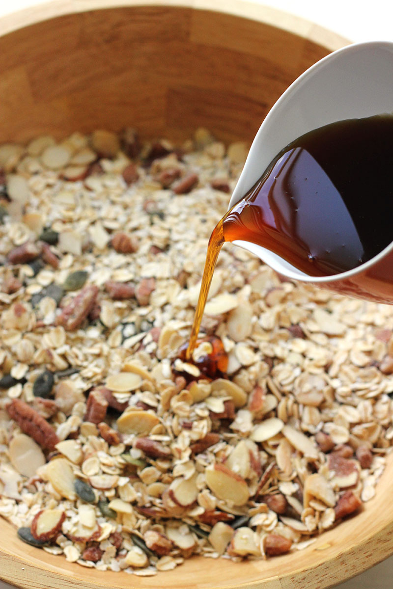 Apple Pie Granola | The Sugar Hit