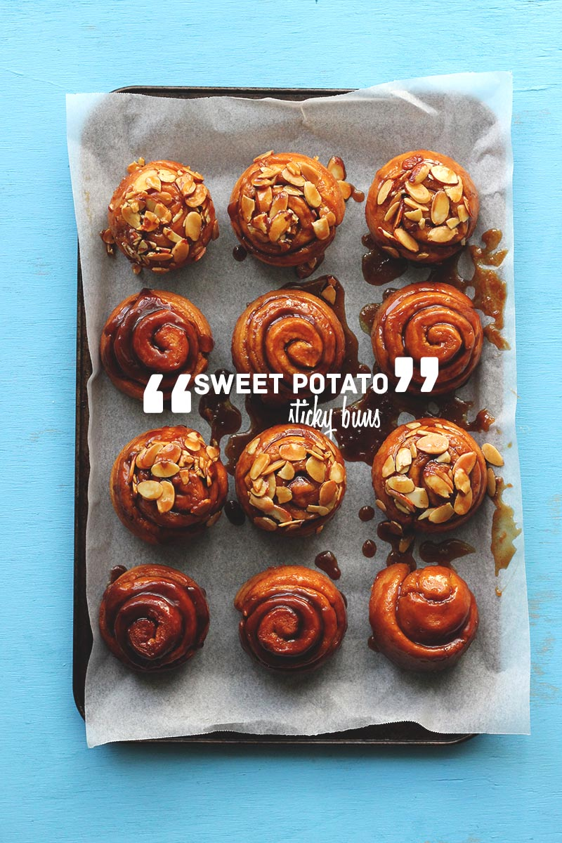Sweet Potato Sticky Buns | The Sugar Hit