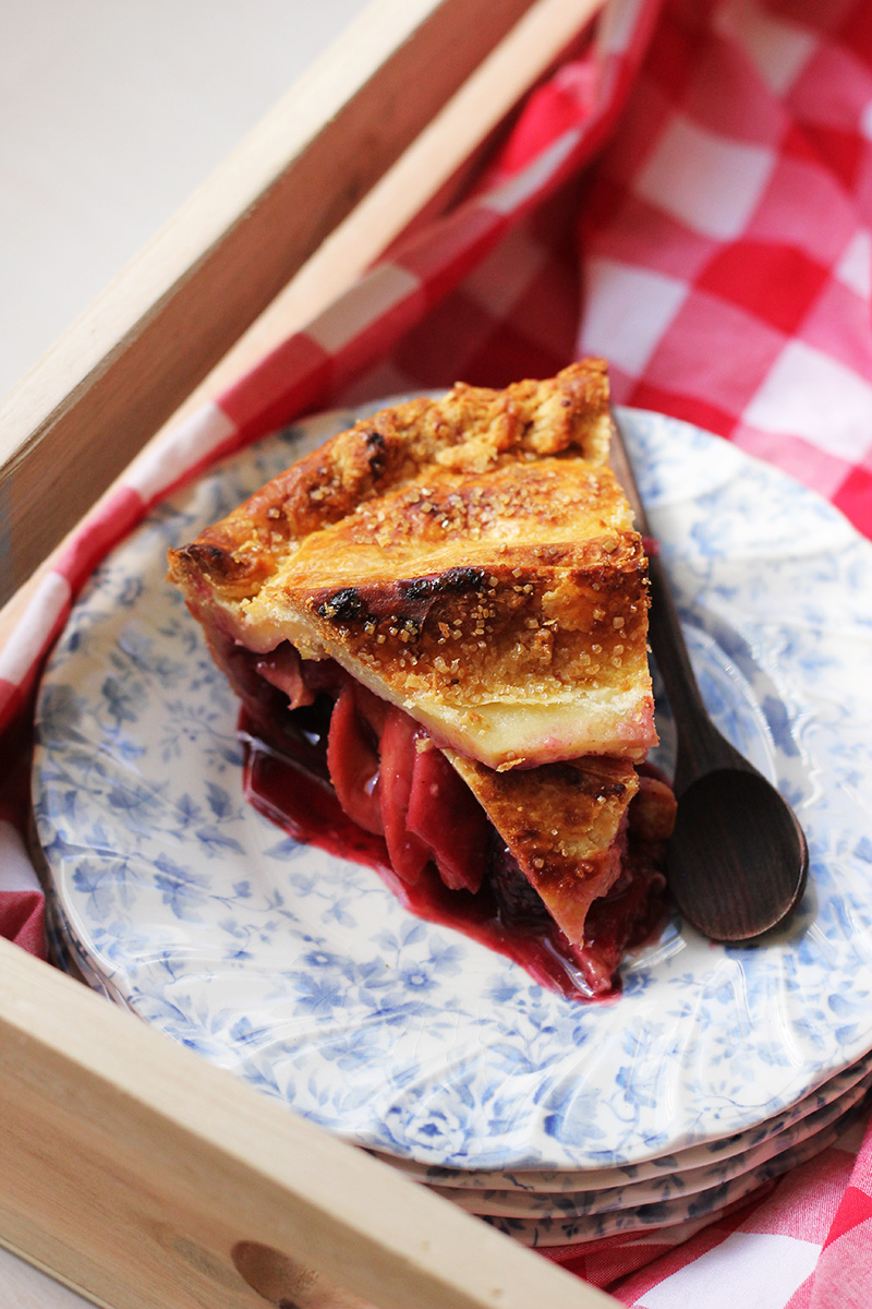 Apple and Blackberry Pie! | The Sugar Hit