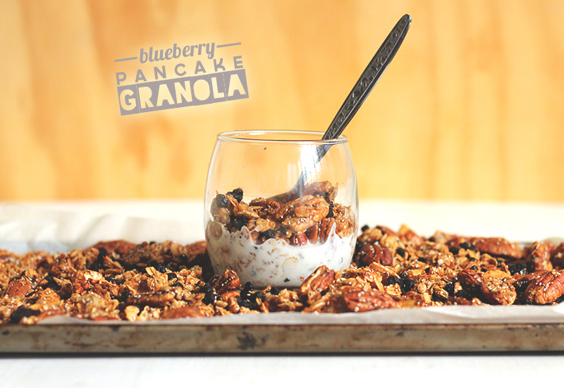 Blueberry Pancake Granola | The Sugar Hit!