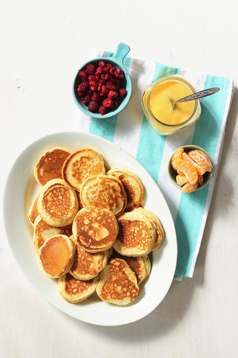 Brown Butter Buttermilk Pancakes with Mandarin Curd The Sugar Hit