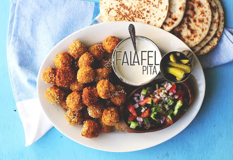 Falafel Pita for Street Food Monday!   The Sugar Hit