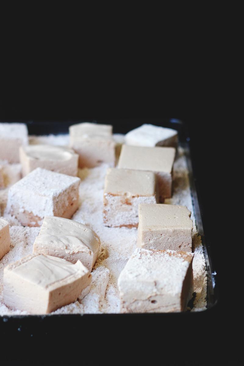 Salted Malt Marshmallows| The Sugar Hit