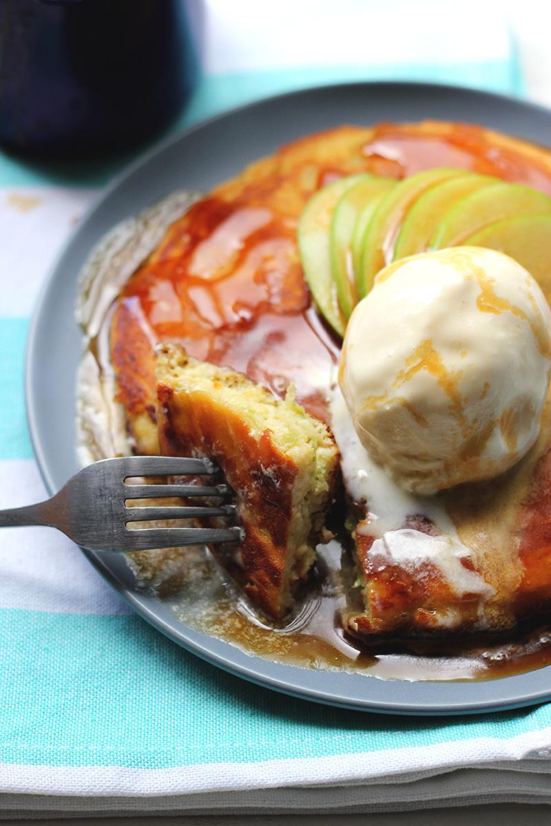 Single Lady Apple Pancake! | The Sugar Hit