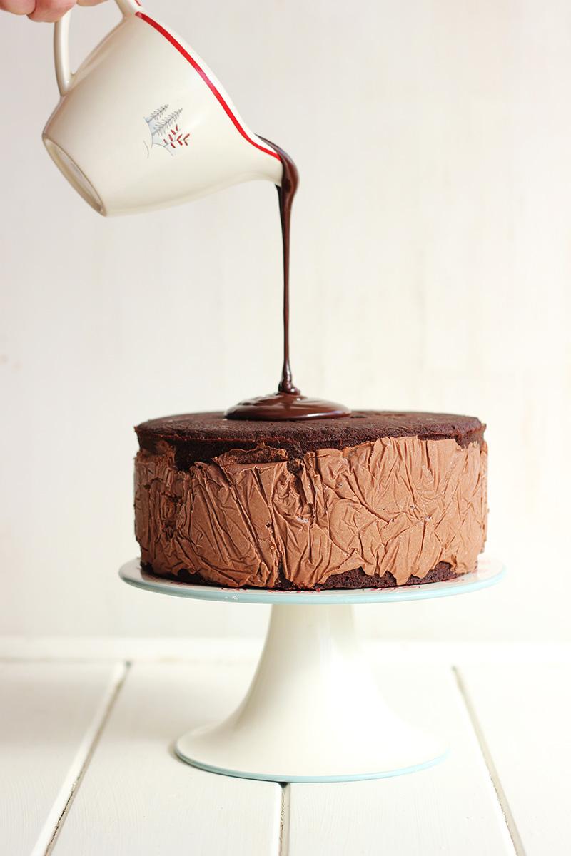 Toblerone Ice Cream Cake! | The Sugar Hit