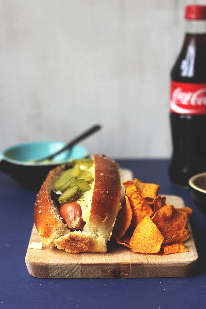 Danish Style Hot Dogs {street food monday} | The Sugar Hit