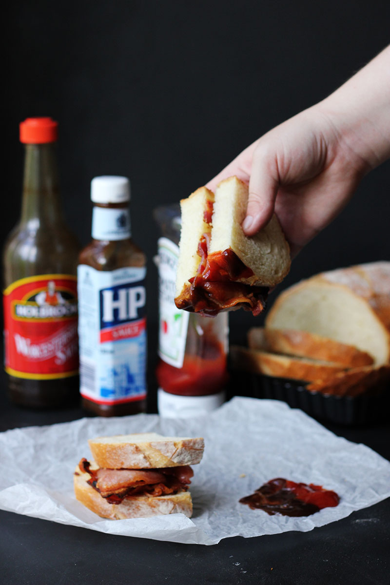 Bacon Sarnie | The Sugar Hit