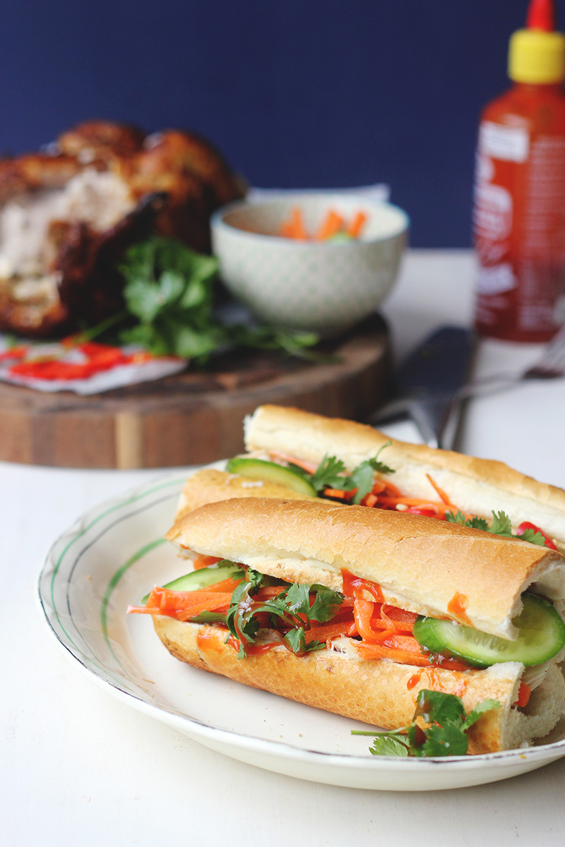 Quick and Easy Banh Mi | The Sugar Hit