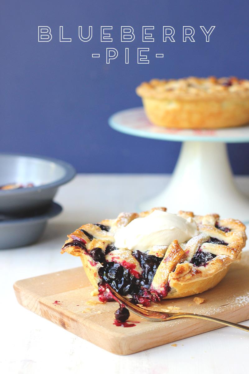 Blueberry Pie // The Sugar Hit