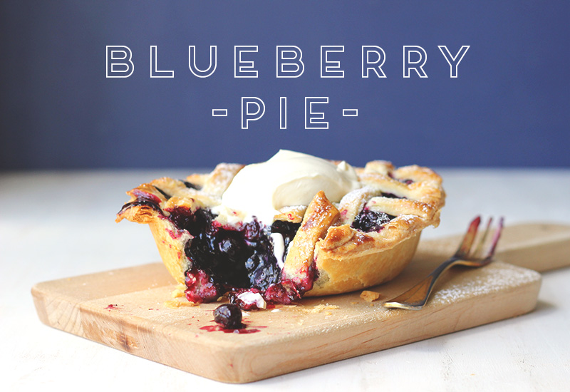 Blueberry Pie // The Sugar Hit