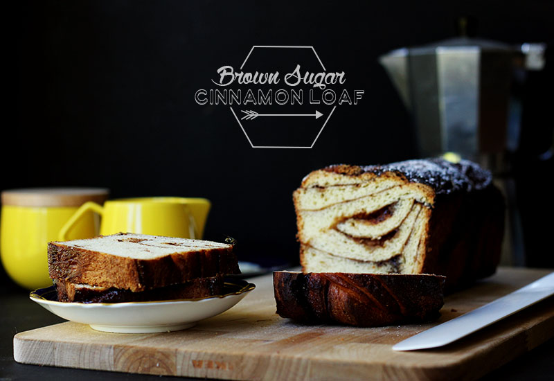 Brown Sugar Cinnamon Loaf // The Sugar Hit