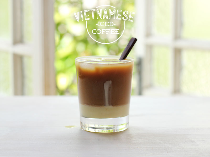 Vietnamese Iced Coffee // The Sugar Hit