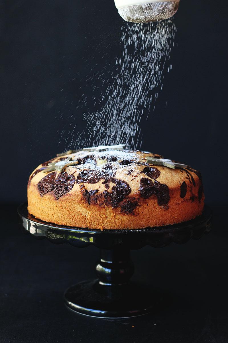 Izy's Chocolate Chip Amaretto Torte | The Sugar Hit