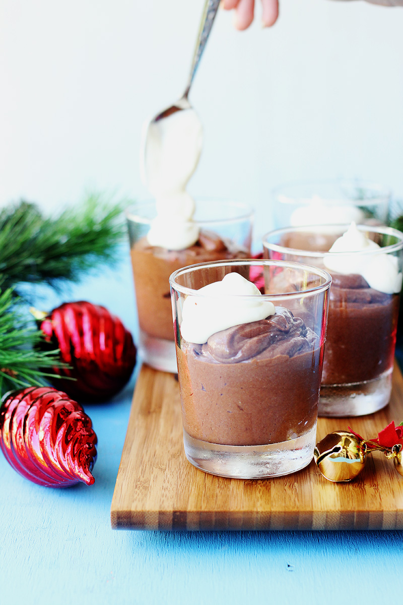 Chestnut Chocolate Mousse  // The Sugar Hit