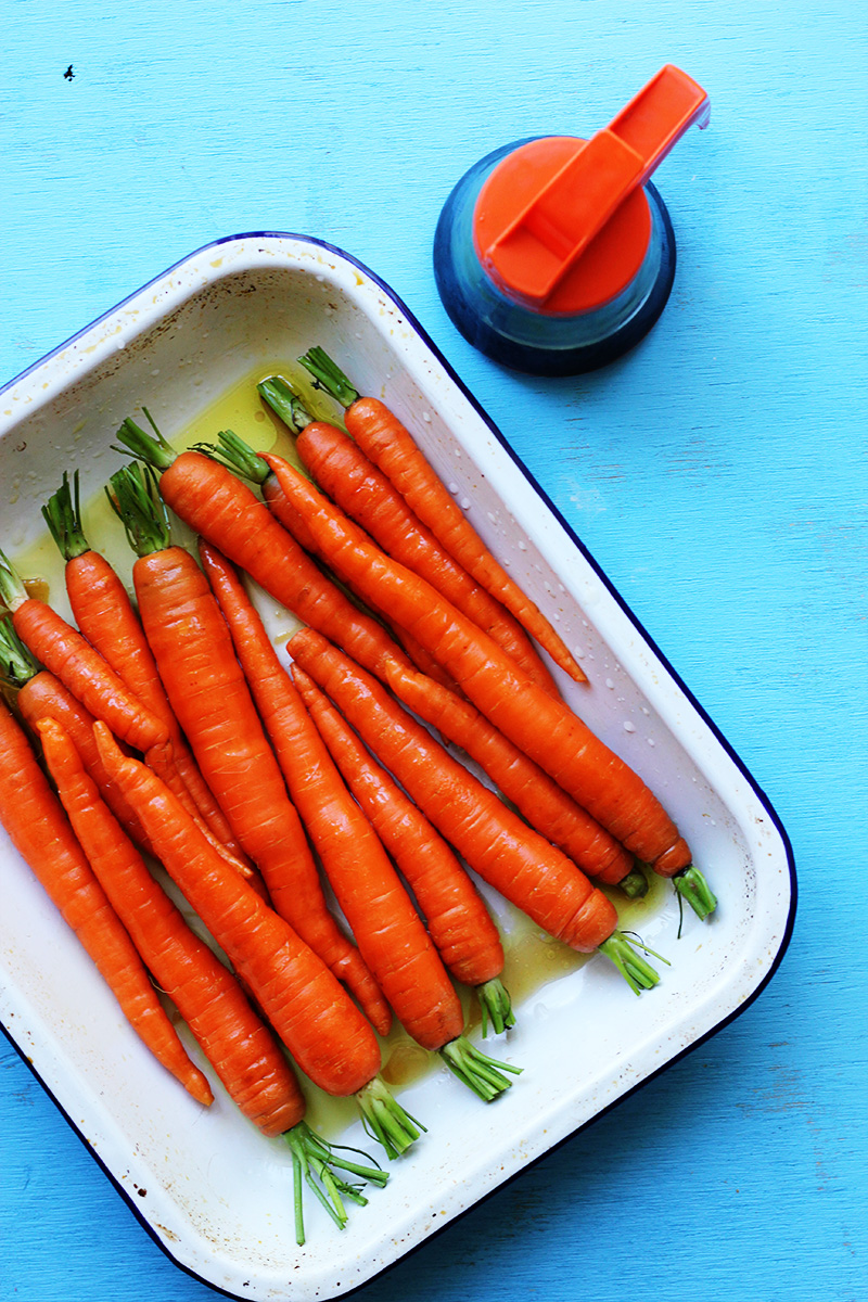 Maple Roast Carrots with Parsley and Pistachios // The Sugar Hit