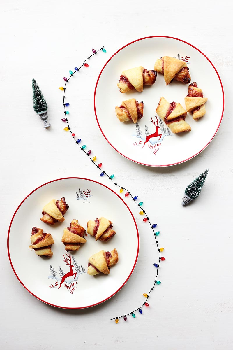 Raspberry Jam Rugelach // The Sugar Hit