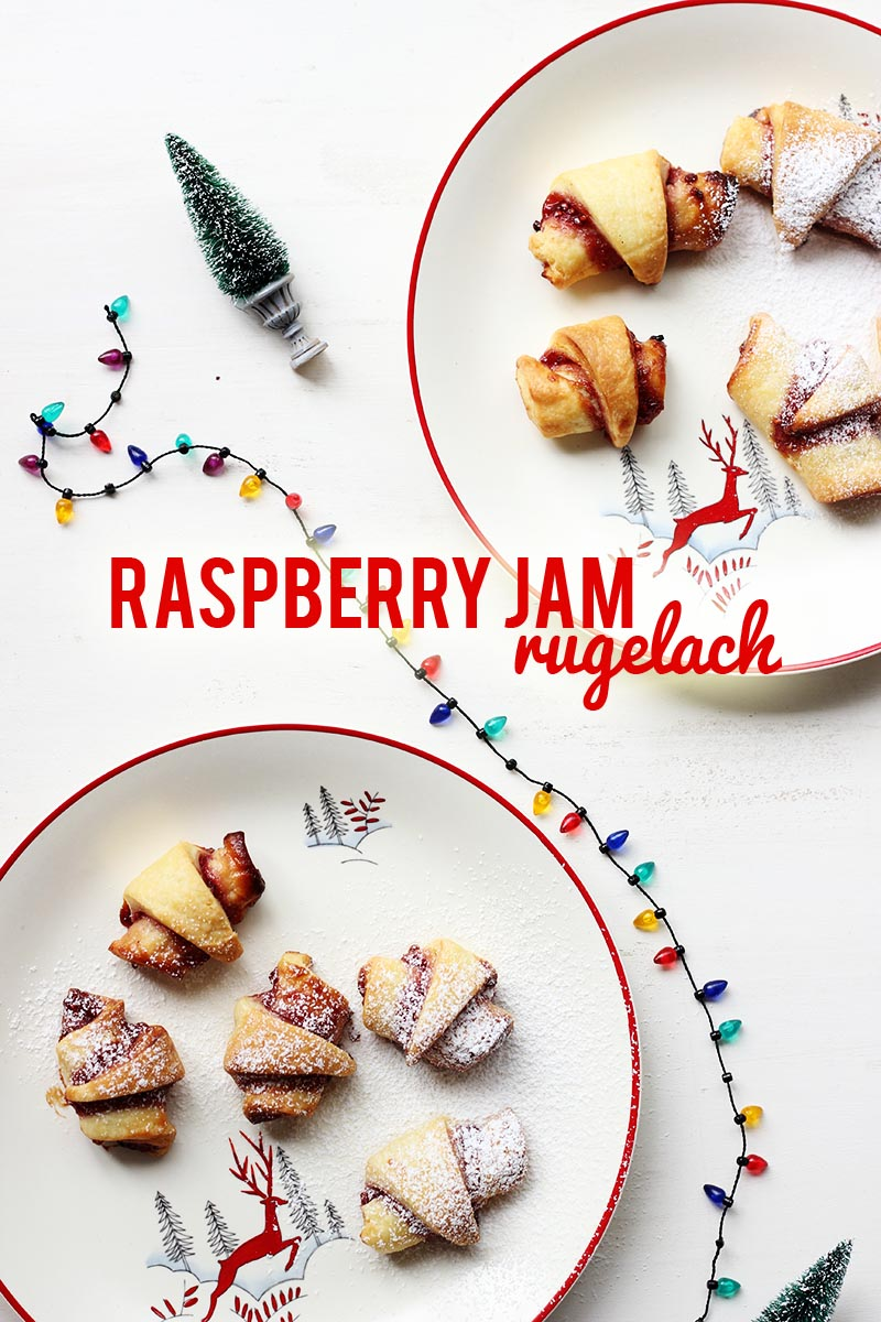 Raspberry Jam Rugelach // Cookie Week! | The Sugar Hit