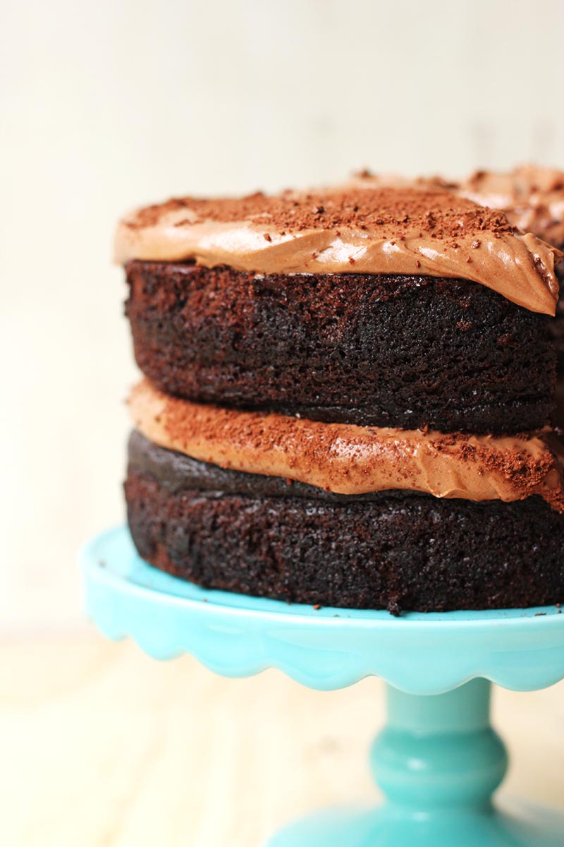 Lush Chocolate Milo Cake // The Sugar Hit
