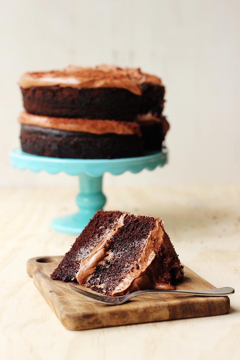 Lush Chocolate Milo Cake // The Sugar Hit
