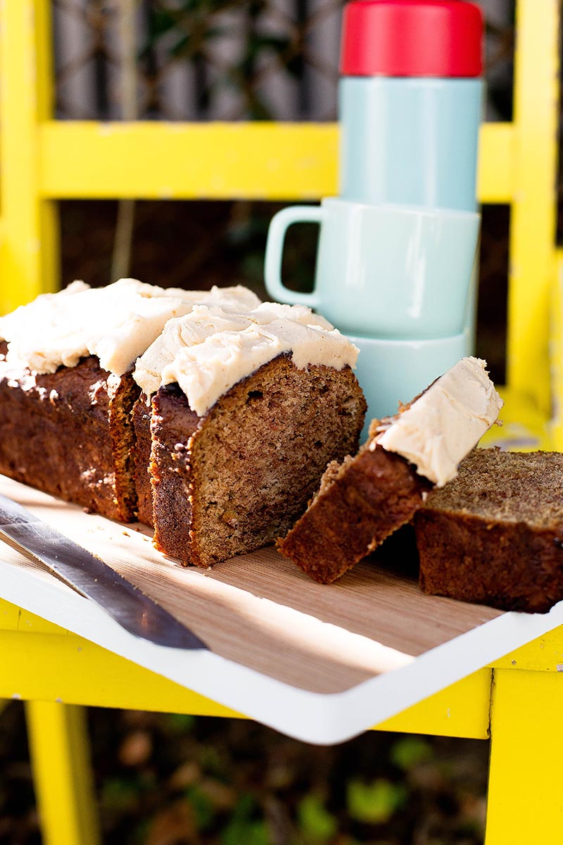 Apple Brown Butter & Vanilla Loaf Cake // The Sugar Hit