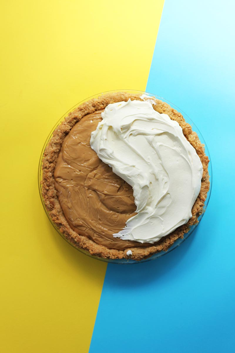 Butterscotch Pie with Brown Butter-Oat Crust // The Sugar Hit