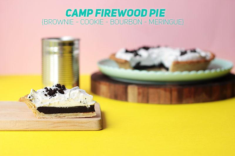Camp Firewood Brownie Pie // The Sugar Hit