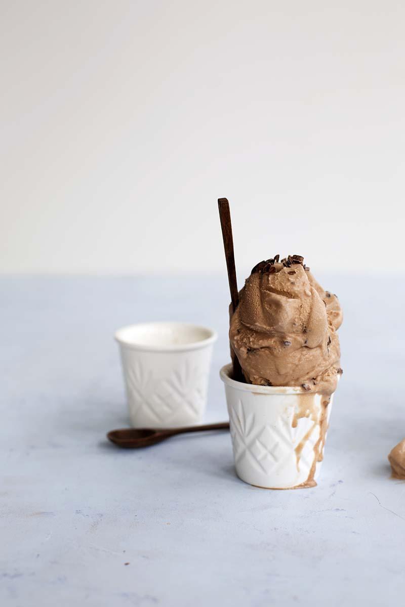 Choc Malt Cacao Chip Ice Cream! // The Sugar Hit