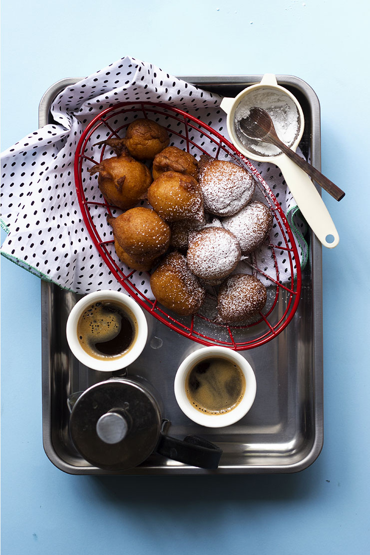 Crispy Spiced Sweet Potato Fritters // The Sugar Hit