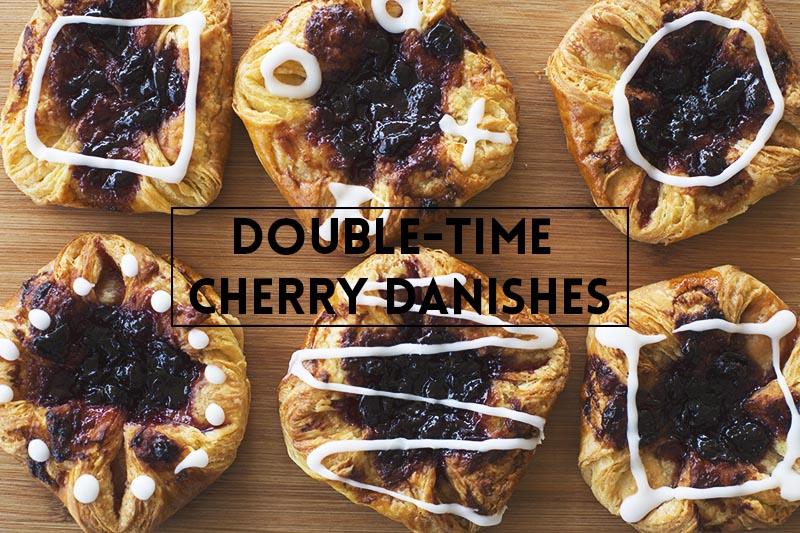 Double Time Cherry Danish // The Sugar Hit